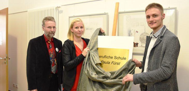 Berufliche Schule Paula Fürst FAWZ gGmbH_Wir heißen jetzt Paula Fürst - Namensgebung vom 2. Oktober 2019