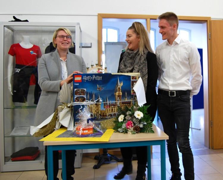 Berufliche Schule Paula Fuerst FAWZ gGmbH_Vorgezogene Verabschiedung_Dezember 2019