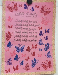 Sozialassistenten_Englischunterricht_Butterfly