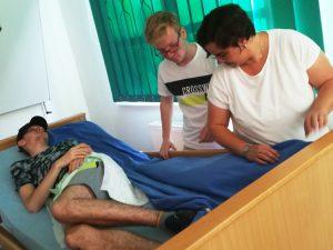 Sozialassistenten_Pflegedienst Reincke zu Gast_Pflegesituationen